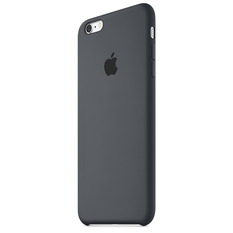 Apple Silicone Case Charcoal Grey iPhone 6S Plus