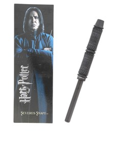 Noble Collection Harry Potter Snape Wand Pen & Bookmark