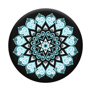 PopSockets Peace Mandala Sky Stand & Grip for Smartphones