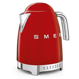 SMEG Variable Temperature Electric Kettle Red