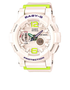 Casio BGA-180-7B2 Baby-G Analog/Digital Watch