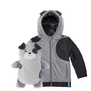 Cubcoats Pimm The Puppy Unisex 2-In-1 Hoodie
