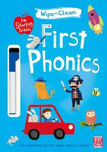 First Phonics: Wipe-Clean Book with Pen