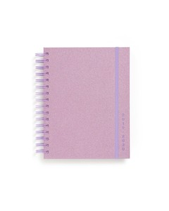 ban.do 17-Month Medium Planner Lilac Glitter