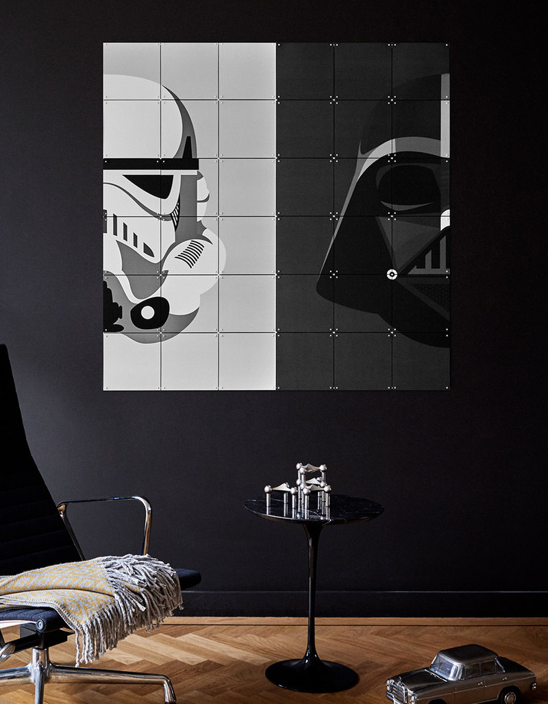 Ixxi star wars stormtrooper darth vader wall decoration for Star wars dekoration