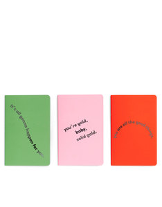 Ban.do Hold That Thought Notebook Set Compliments