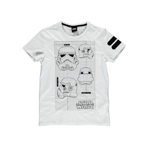 Star Wars Imperial Army Men's T-Shirt White