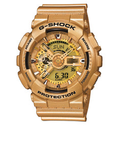 Casio GA-110GD G-Shock Analog/Digital Watch Gold