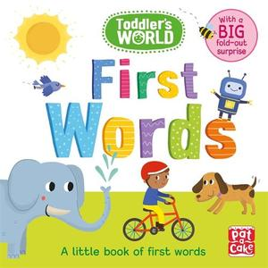 Toddler's World: First Words: A little board book of first words with a fold-out surprise