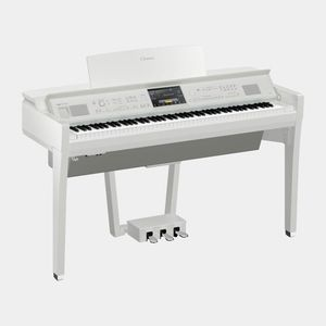 Yamaha CVP-809 Clavinova Digital Piano Polished White