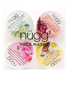NUGG BEAUTY FACE MASK PALETTE FOR CLEAR & SMOOTH SKIN 10ML [4 PACK]