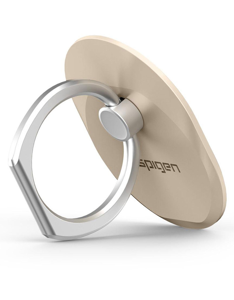 pretty nice 7eefd f8040 Spigen Style Ring Grip Champagne Gold For Smartphones