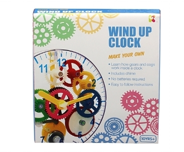 Keycraft Make Your Own Wind Up Clock