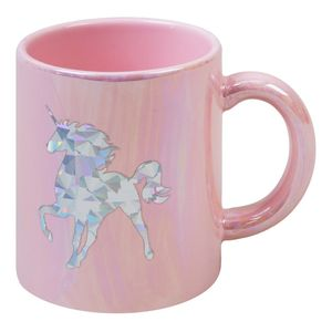 Just 4 Kids Unicorn Magic Ceramic Iridescent My Spirit Animal Pink Mug