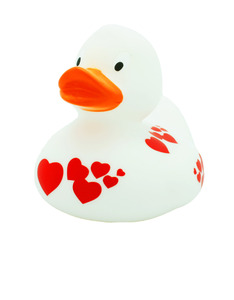 LILALU WHITE RUBBER DUCK