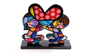 Romero Britto Children Love Figurine