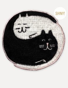 Ustudio Iron-On Patch Yin Yang Cates