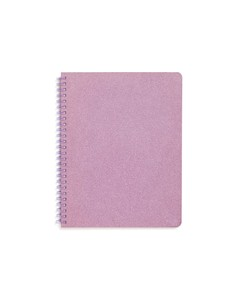 ban.do Rough Draft Mini Notebook Lilac Glitter