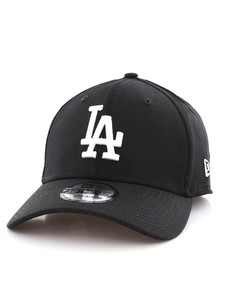 New Era League Essential LA Dodgers Black/White Cap