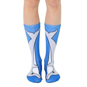 Living Royal Dolphin Women's Crew Socks