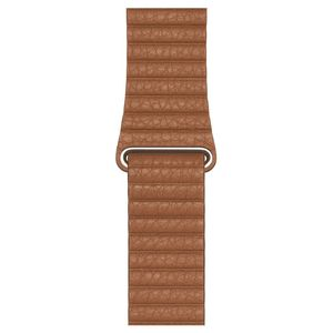 Apple 44mm Saddle Brown Leather Loop Large for Apple Watch
