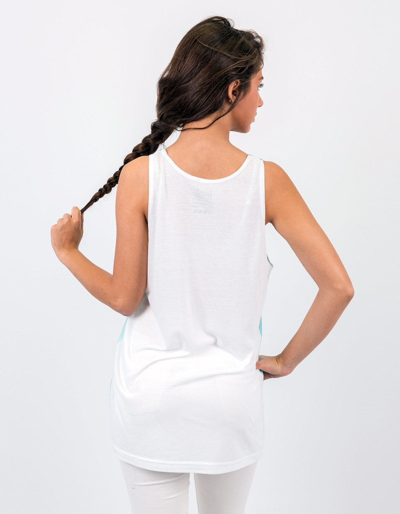 Royalty Fresh All Over White Unisex Vest M