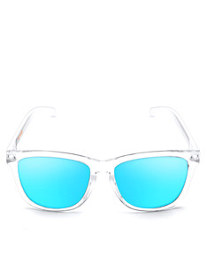 Emoji Mum Bright White/Ice Adult Sunglasses