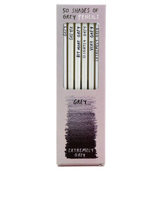 Ustudio 50 Shades Sharp & Blunt Pencils [Set of 6]