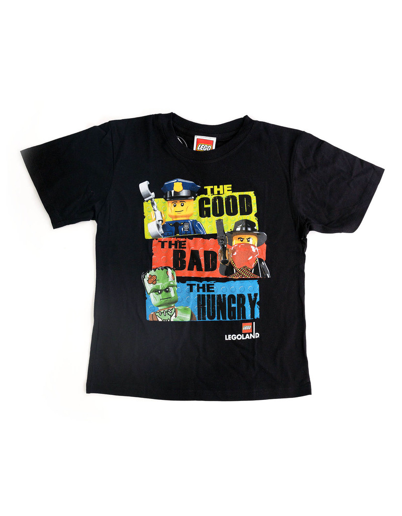 Lego Good-Bad-Hungry Boys T-Shirt