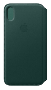APPLE LEATHER FOLIO FOREST GREEN FOR IPHONE XS MAX