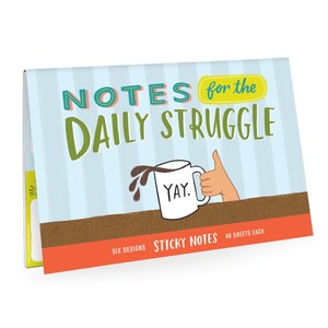 Emily Mcdowell Daily Struggle Sticky Note Packet