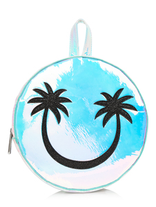 Skinny Dip Palm Smiley Backpack