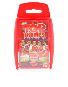 TOP TRUMPS ARSENAL FC CARD GAME ENGLISH & ARABIC