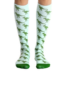 Living Royal Dinosaur Knee High Socks