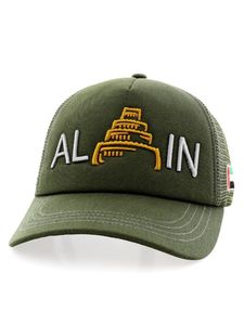 B180 Al Ain Castle Unisex Cap Royal Green