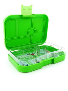 Yumbox Cilantro Green Original Lunchbox