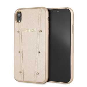 Guess Kaia Case Gold for iPhone XR