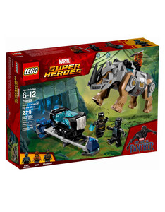 Lego Rhino Face Off By The Mine 76099