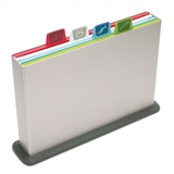 Joseph Joseph Index Chopping Board Large Silver [Set of 4]