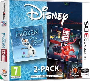 Disney 2-Pack: Disney - Frozen: Olaf's Quest + Disney - Big Hero 6: Battle in the Bay