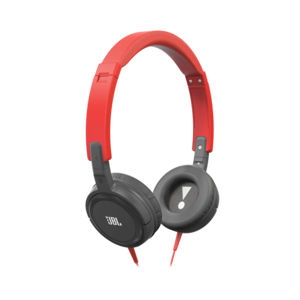 Jbl T300A Purebass Red/Grey Headphones