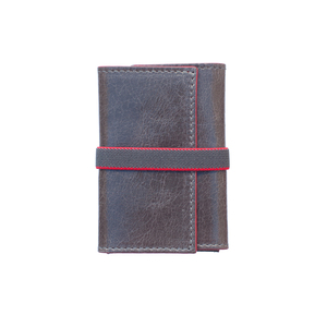 Double 00 London Grey/Red Wallet
