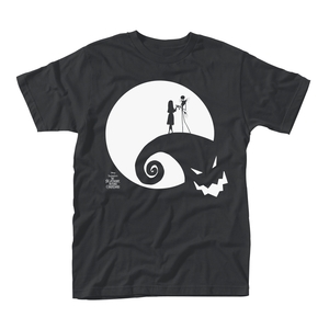 Nightmare Before Christmas Moon Oogie Boogie Men's T-Shirt Black