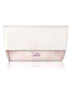 Zoella Sweet Inspirations White Candy Clutch Bag