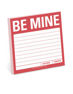 Be Mine Sticky Note