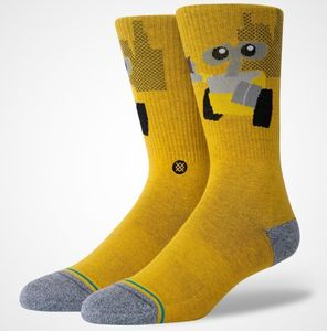 Stance Wall E Unisex Socks Orange