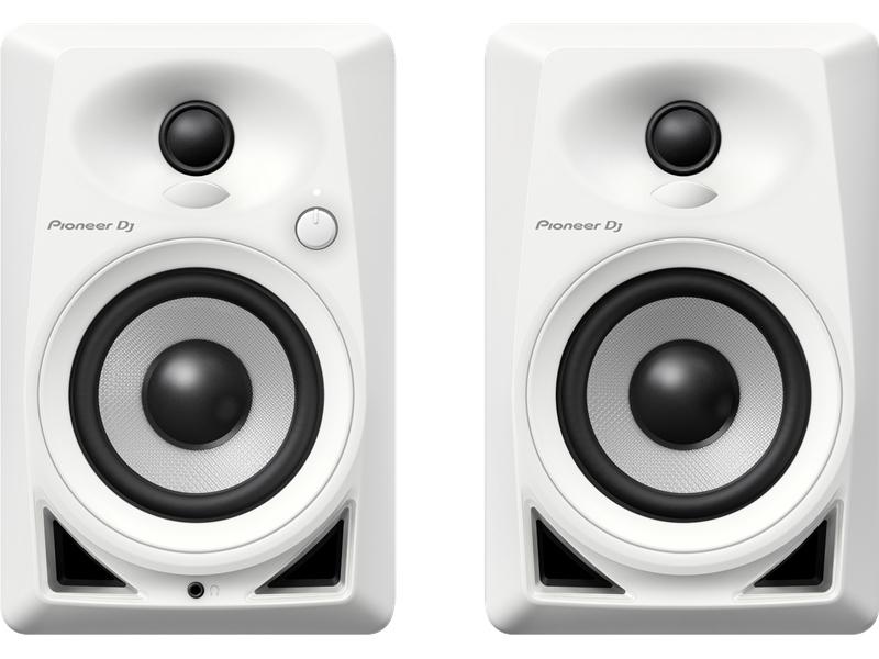 Pioneer Dm 40 W White Loud Speaker Speakers Amp Docks