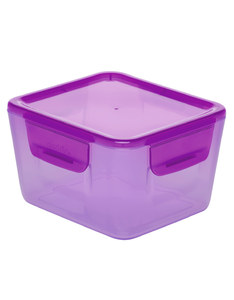 Aladdin Easy-Keep Lid Food Container Purple 1.2L