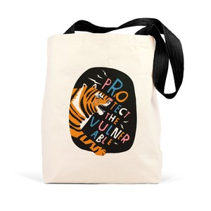 Emily Mcdowell Protect The Vulnerable Tote Bag