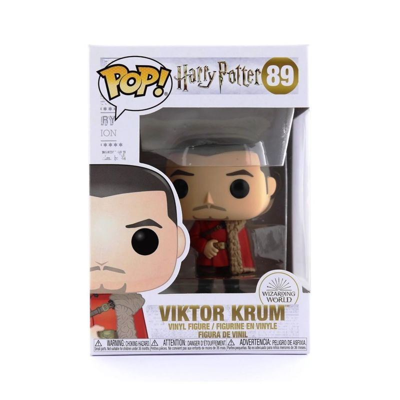 Funko Pop Harry Potter S7 Viktor Krum Yule Vinyl Figure